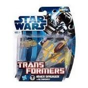 Star Wars: Transformers 2012 Class I Jedi Starfighter Anakin Vehicle
