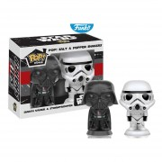 Set 2 piezas salero y pimentero star wars edicion especial Funko pop guerra de las galaxias salt & pepper shakers