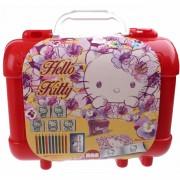 Multiprint kleurset Hello Kitty 19-delig rood