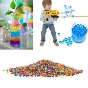 Water Beads Rainbow Mix 20000Pcs for Orbeez Spa Refill | Kids Tactile Sensory Toys and Home Decor
