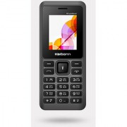 Karbonn K5 Jumbo 2 Dual SIM Basic Phone (Grey-Orange)