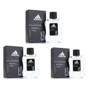 Paquete 3 X 1 De Adidas Dynamic Pulse De Adidas Eau De Toilette 100 Ml