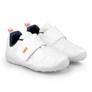 Pantofi Baieti Bibi Fisioflex 4.0 Albi Cu Clapeta