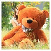 Soft Teddy Bear Big Huge 5 Feet Gift to Love Valentine Birthday Kids