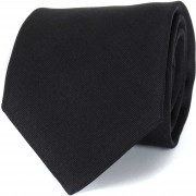 Profuomo Krawatte Schwarz 16J - Schwarz
