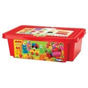 Ecoiffier Abrick 60 Pieces Box, Multi Color