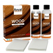 ROYAL Holzpflege Wood Starter Kit Elite Polish + Clean 2x75ml (leichter glanz)