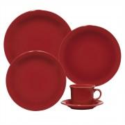 Aparelho de Jantar Com 20 Peças Ref-floreal Red