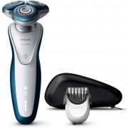 Aparat de ras Philips S7520/41, Acumulator, Alb / Albastru