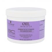 Schwarzkopf BC Bonacure Oil Miracle Barbary Fig & Keratin maschera per i capelli secchi e fragili 500 ml donna