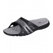 COQUI KOVY Pánské pantofle 493-343 Black/Lt.grey 40