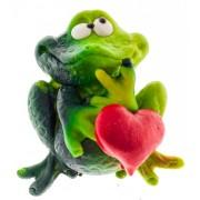Żaba z sercem - magnes