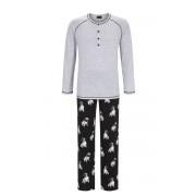 Ringella heren pyjama mopshond