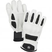 Hestra Junior Glove IMPACT RACING white/black