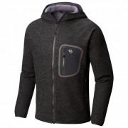 Mountain Hardwear - Hatcher Full Zip Hoody - Veste en laine taille S, noir
