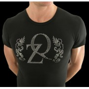 QZ Bodywear Club Crystal Fabel Crew Neck T Shirt 254-54-400-1
