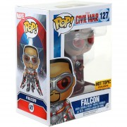 Funko Pop Falcon Exclusivo Capitan America Civil War Marvel-Multicolor