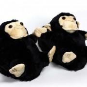 Geen Kinder dieren sloffen / pantoffels aap