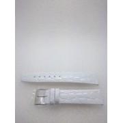 20-as fehér színű valódi bőr óraszíj A5005-20-21