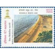 Bogmalo Beach Goa Event - Beaches of India Indepex 97 Rs.11