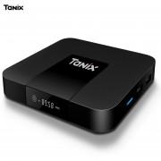 TX3 Mini TV Box S905W 2.4 GHz WiFi Soporte 4K (AU (Negro)