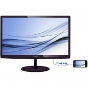 "Monitor LED Philips 227E6EDSD/00 21.5"" 5ms cherry black"