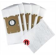AllBag Sáčky pro ELECTROLUX E201 / Philips FC8021 s-bag typu 5ks