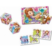 Set Educativ Clementoni Mini Edukit Disney Princess Sofia