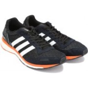 ADIDAS ADIZERO ADIOS M Running Shoes For Men(Black)