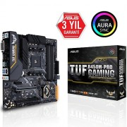 Asus TUF B450M-PRO GAMING DDR4 S+GL AM4 (mATX)
