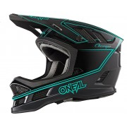 Oneal Blade Charger Casco descenso Turquesa XL
