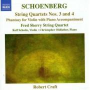 A Schonberg - String Quartets No.3 & 4 (0747313253326) (1 CD)