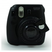 El Diseño De Cámaras Fujifilm Instax Mini 8/7s En Primer Plano La Lente (Espejo De Autorretrato) De Fujifilm Instax Mini 8/7s Cámara De Película Instantánea MULBA C1491 Black
