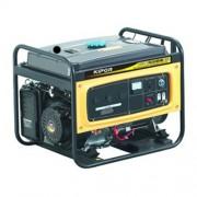 Generator de curent electric Kipor KGE 6500 E3, 6 kVA, trifazat, benzina, pornire electrica