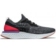 Nike Epic React Flyknit - scarpe running neutre - uomo - Black/White/Red