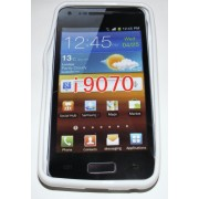 Силиконов гръб ТПУ за Samsung I9070 Galaxy S Advance Бял