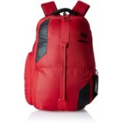 Wiki by Wildcraft Geek 1 Red Laptop Backpacks 22.575688000000003 L Backpack(Red)