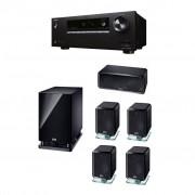 Pachet Receiver AV Onkyo TX-SR252 + Boxe Heco Ambient 5.1 A