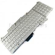 Tastatura Laptop Dell Inspiron 1721 argintie iluminata