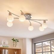 Lampenwelt.com LED plafondlamp Matthea, 6 lampen