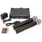 Set microfoane wireless profesionale Shure UHF SM58