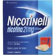 Nicotinell - 21mg, caixa com 7 adesivos transdérmicos