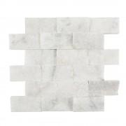 Mozaic Marmura Mugla White Scapitata 5 x 10 cm