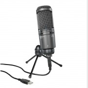 Microphone, Audio-Technica AT2020USB+