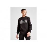 Rascal Reflective Fleece Crew Sweater Junior - Black - Kind