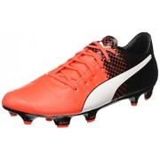 Puma Men's Evopower 3.3 Fg Red Blast, Puma White and Puma Black Football Boots - 8 UK/India (42 EU)