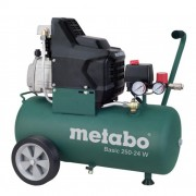 Compresor de aer METABO BASIC 250-24 W, 230 V, 1.5 kW, 200 l/min, 8 bar, 24 l