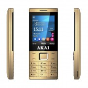 AKAI PHA-2880 DualSim mobiltelefon arany