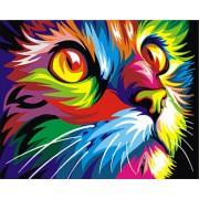 Gaira Malování podle čísel Kočička M1136