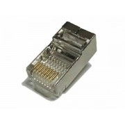 Shielded RJ45 Connector for CAT5e / CAT6 Cable + Boot for 23-26AWG Cable